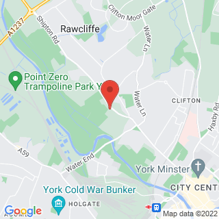 Combat Archery York Location Map