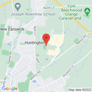 Racing Simulation York Location Map