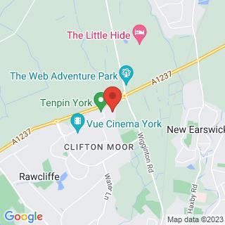 Combat Archery York Location Map