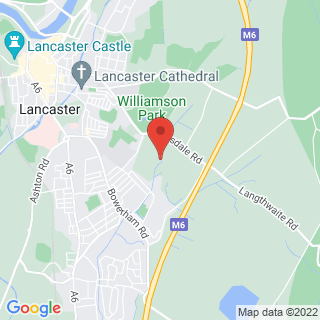 Bubble Football Lancaster Location Map