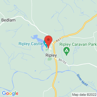 Segway Harrogate Location Map