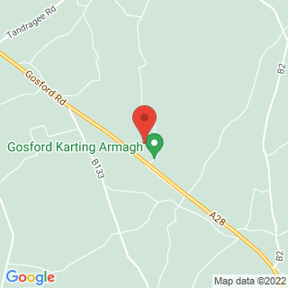 Karting Markethill, County Armagh Location Map