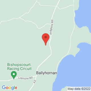 4x4 Off Road Driving Belfast Location Map