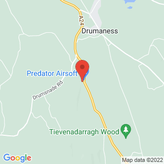 Airsoft Drumaness Location Map