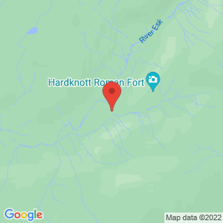Canyoning Eskdale, Lake District Location Map