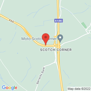 Paintball Scotch Corner Location Map