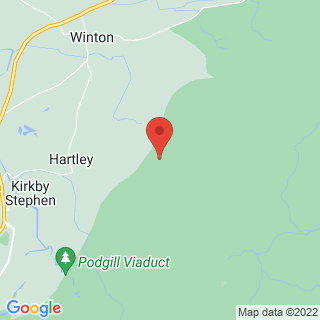 Mountain Biking Howgill Fells Location Map