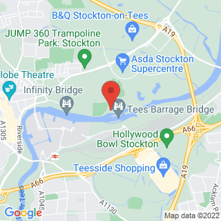Stand Up Paddle Boarding (SUP) Middlesbrough Location Map