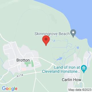Rally Driving Saltburn, Teeside Location Map