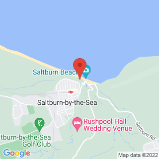 Surfing Saltburn-by-the-Sea Location Map