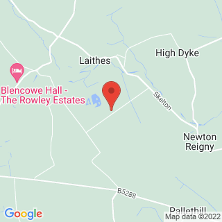 Paintball Blencow, Nr Penrith Location Map