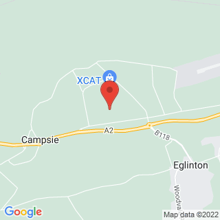 Karting Eglinton, Nr Londonderry Location Map