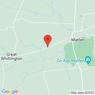 Clays Matfen Location Map
