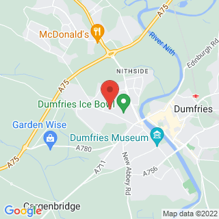 Bubble Football Dumfries Location Map