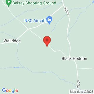 Archery Newcastle Location Map