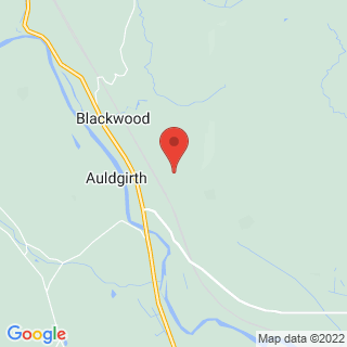 Clay Pigeon Shooting Dumfries Location Map