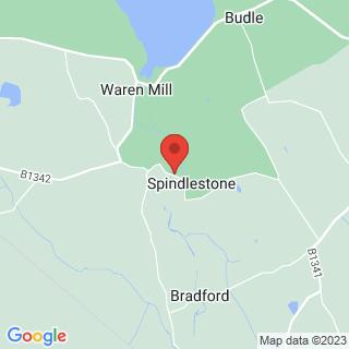 Survival Skills Belford, Northumberland Location Map