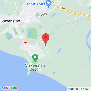 Bubble Football Stevenston, North Ayrshire Location Map