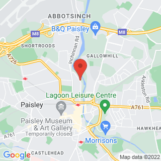 Combat Archery Glasgow West Location Map