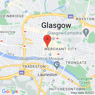 Axe Throwing Glasgow - Union Street Location Map