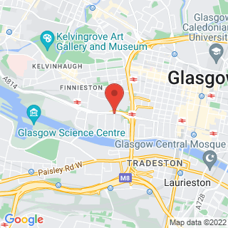Axe Throwing Glasgow - Hydepark Street Location Map