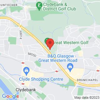 Combat Archery Clydebank, Glasgow Location Map