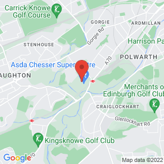 Combat Archery Edinburgh Location Map