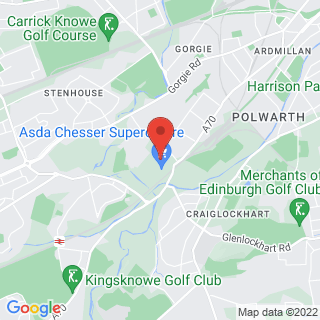 Bubble Football Edinburgh Location Map