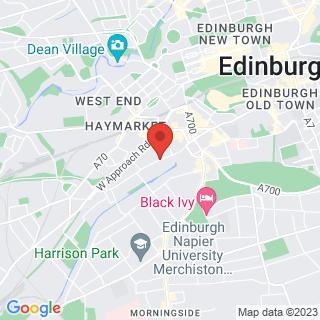 Escape Games Edinburgh - Toll Cross Location Map