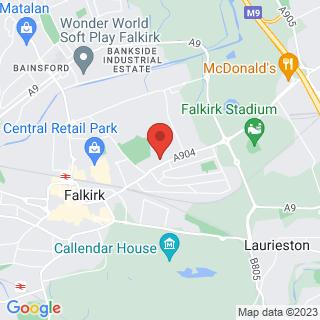 Bubble Football Falkirk Location Map