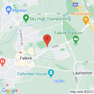 Combat Archery Falkirk Location Map