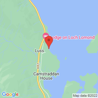 Stand Up Paddle Boarding (SUP) Luss Location Map