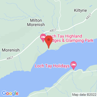 Segway Loch Tay  Location Map