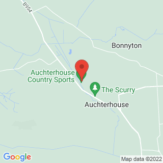 Clay Pigeon Shooting Auchterhouse, Dundee Location Map