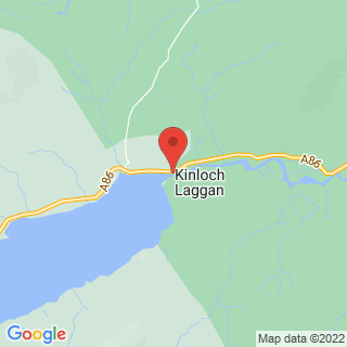 Clay Pigeon Shooting Newtonmore, Invernesshire Location Map