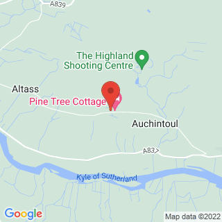 Clay Pigeon Shooting Altass, Highlands Location Map
