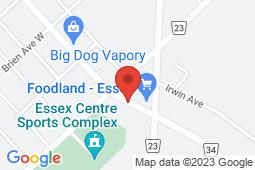 Map of 186 Talbot St S, Essex, Ontario - Essex Walk-In Clinic - Essex Walk-In Clinic