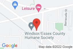 Map of 1400 Provincial Rd, Windsor, Ontario - Coral Medical Centre - Coral Medical Centre