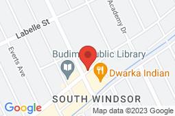 Map of 2930 Dominion Blvd, Windsor, Ontario - Grand Marais Medical Centre - Grand Marais Medical Centre