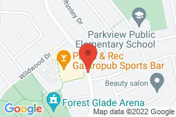 Map of 3145 Forest Glade Dr, Windsor, Ontario - Forest Glade Medical Clinic - Forest Glade Medical Clinic