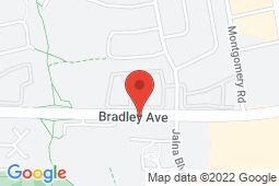 Map of 595 Bradley Ave, London, Ontario - South London Urgent Care and Walk-In Clinic - South London Urgent Care and Walk-In Clinic