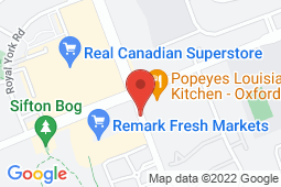 Map of 640 Hyde Park Rd, Unit 4, London, Ontario - Hyde Park Medical - Hyde Park Medical