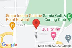 Map of 112 - 704 Mara St, Point Edward, Ontario - Good Doctors Medical Clinics Point Edward - Good Doctors Medical Clinics