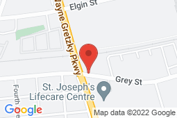 Map of 4275 Village Centre Drive, Unit 200, Brantford, Ontario - Grey Gretzky Medical Centre - Grey Gretzky Medical Centre