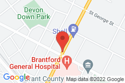 Map of 276 St. Paul Avenue, Brantford, Ontario - National Medical Group Brantford - National Medical Group