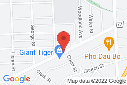 Map of 125 Welland Ave, St Catharines, Ontario - Comprehensive Health Clinic - Comprehensive Health Clinic
