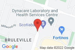 Map of 880 Upper Wentworth St, Hamilton, Ontario - Mountain Medical Walk-in Clinic - Mountain Medical Walk-in Clinic