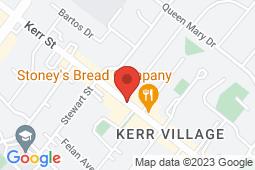 Map of 344 Kerr St, Oakville, Ontario - Kerr Street Medical Centre - Kerr Street Medical Centre