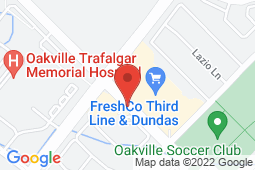 Map of 2524 Third Line, Unit C2, Oakville, Ontario - Royal Oak Clinic Family Practice And Walk-In - Royal Oak Clinic Family Practice And Walk-In