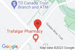 Map of 333 Glenashton Dr, Unit 2, Oakville, Ontario - Glenashton Medical Centre - Glenashton Medical Centre